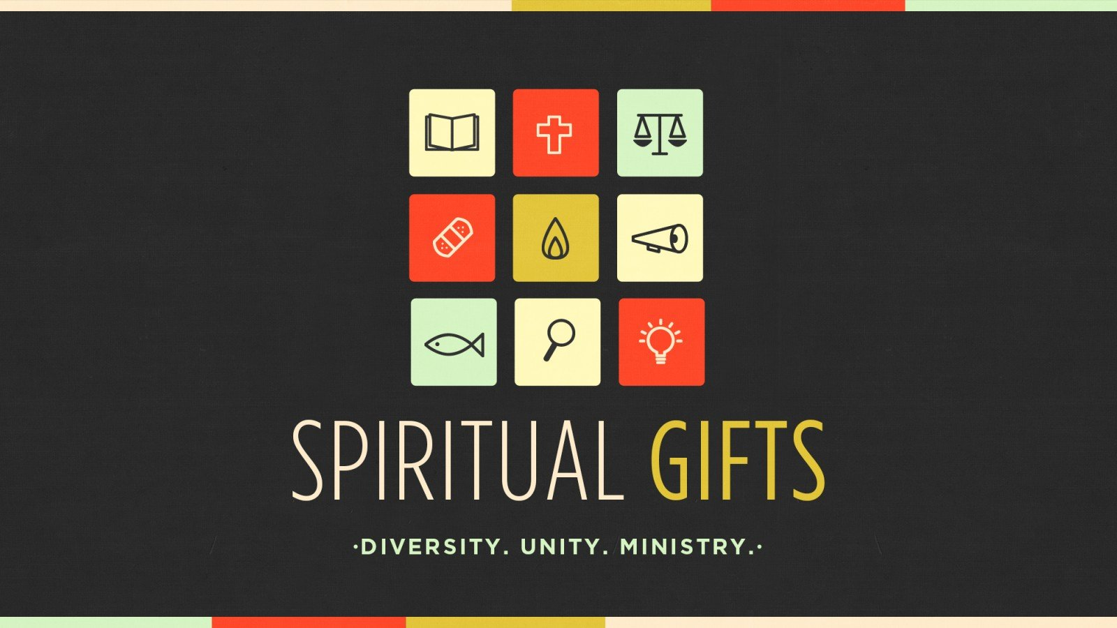 spiritual gifts In this study, r paul stevens leads you to explore what spiritual gifts are, what their role is in the church and how to discover which gifts god has given you you'll dig into key passages on spiritual gifs and look at specific examples of how they were manifested in the early church.
