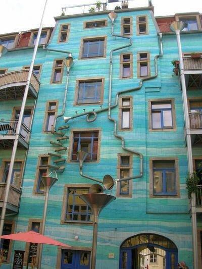 rain building